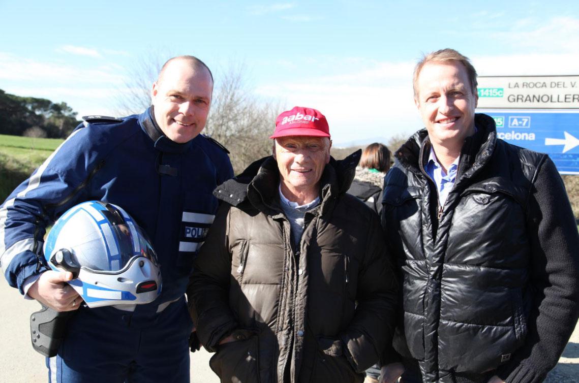 Niki Lauda & Florian König
